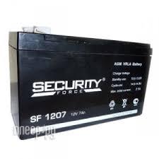 Купить <b>Аккумулятор Security Force</b> / Security Alarm АКБ-7 SF 1207 ...