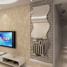 Wall Mirrors Decorative Living Room Online Get Cheap Wave Wall Mirror Aliexpresscom Alibaba Group