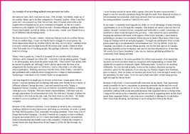 Essay Examples How To Write Narrative About Myself Example