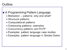 Programming Patterns Interesting Design Patterns For Parallel Programming Ppt Download
