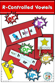 Anchor Charts Gorgeous RControlled Vowel Center Activities And Worksheets Pinterest