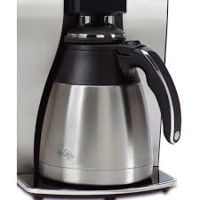 Coffee machines that require a disc shape water filter. Mr Coffee Optimal Brew 10 Cup Programmable Coffee Maker With Thermal Carafe Programmable 1300 W 10