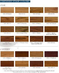 Ohio amish crafted stain choices