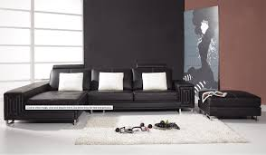 modern leather couch vig furniture inside contemporary black leather sofa regarding household modern couch f12