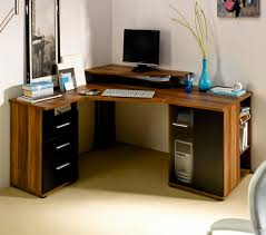 computer corner desk wood build rustic office desk