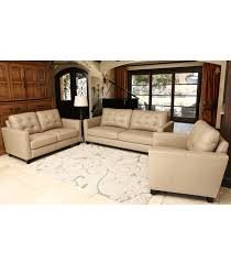 Living Room Sets Merano Piece Leather Set