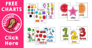 Free Printable Charts For Classroom Free Printable Charts Preschool Mom