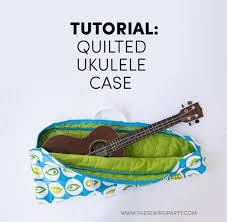 tutorial quilted ukulele bag