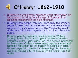 english and american writers o henry the last leaf ppt  11 o henry