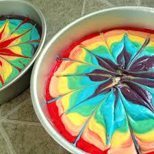Tie Dye Birthday Cake Designs Rainbow Tie Dye Cake Reality Daydream