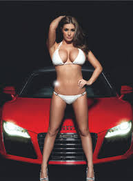 Lucy Pinder for Nuts Magazine The Car Special Your Daily Girl lucy pinder12