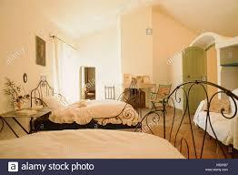 Schlafzimmer Betten Aus Schmiedeeisen Bank Konsole Tisch Und Sessel