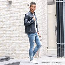 it is fashion rag style in riders jacket men single fake leather leather jacket bitter