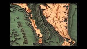 Cape Cod Wood Chart Cape Cod Wood Nautical Chart