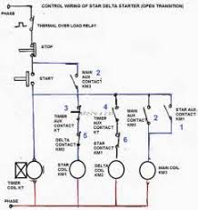 circuit diagram of star delta starter timer images starter star delta circuit diagram electrical engineering centre