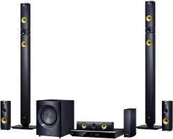 LG Electronics BH9430PW 9.1 3D Blu-ray home cinema system 1460 W Black  Ultra HD Upscaling, Cordless rear speakers, Bluet