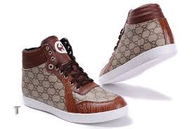 gucci shoes for men low tops. gucci high top chocolate light brow with white sole shoes for men low tops