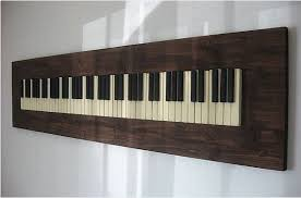 custom made repurposed piano key wall art on piano themed wall art with hand crafted repurposed piano key wall art by pianobox custommade