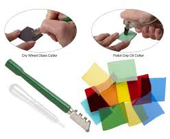 cutting glass with glass cutting tools