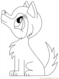 Easy Way To Color Wolves Coloring Pages Toyolaenergycom
