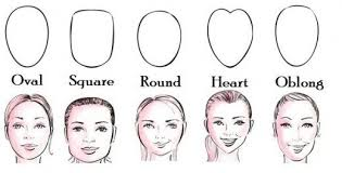 before beginning your highlighting and contouring you must first determine your face shape faces can be oval rectangular round heart shaped oblong