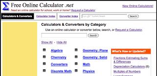 Free Online Calculator
