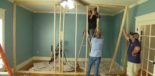 non load bearing interior wall