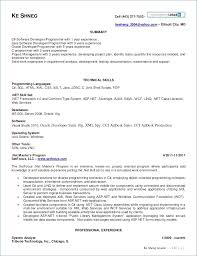 15 Free Sample Resume For Software Engineer With One Year Experience