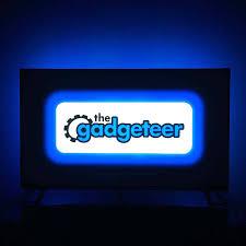 Vansky Bias Lighting Manual Power Practical Luminoodle Color Bias Lighting Review The