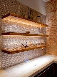 40 Creative Kitchen Backsplash Ideas HGTV Mesmerizing Wood Stove Backsplash Creative