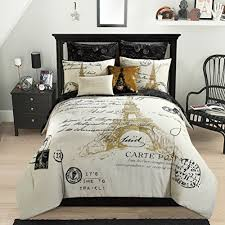 eiffel tower bathroom decor  paris themed bedding
