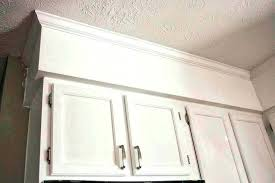 installing kitchen cabinet crown molding on cabinets install base what