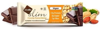 nugo slim crunchy peanut er 12 bars