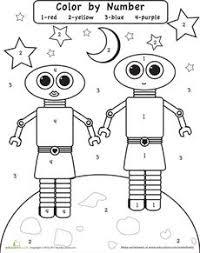 cb509753754e9f5fe8e4bfa79d9bef07 number worksheets preschool worksheets color by number outer space aliens, number words and for kids on space worksheets for kids