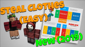 How To Design Clothes In Roblox How To Steal Clothing Roblox New 2018 Copy Clothes Easy