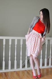 Skirt Patterns With Pockets Interesting The Gathered Drape Skirt With Pockets Tutorial