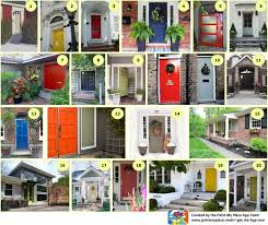 what color to paint my housefront door  Paint My Place App