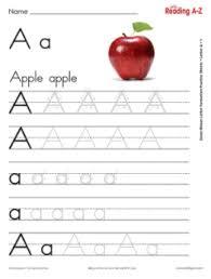 Manuscript Letter Formation Chart Print Letter Formation Practice Sheets Reading A Z