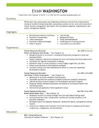 Sample Employment Resume Best Recruiting And Employment Resume Example Livecareer