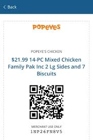 tell popeyes in schererville you have a coupon for the 14 piece meal and they will give you the deal