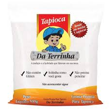 Goma Pronta para Tapioca DA TERRINHA, Tapioka aus Brasilien, hydratisiert,  Beutel 500 g.: Amazon.de: Lebensmittel & Getränke