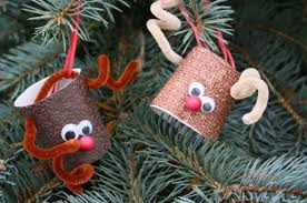 Easy Homemade Christmas Ornament Ideas  Parents  YouTubeEasy To Make Christmas Crafts