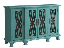 accent cabinets large teal zoom