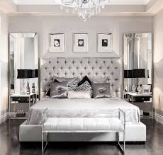 Silver Furniture Set And Glossy Toss Pillows For Luxury Bedroom Decor