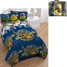 Ninja Turtle Bedroom Furniture Nickelodeon Teenage Mutant Ninja Turtle Bed In A Bag 5 Piece