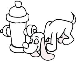 Small Picture Fire Hydrant Coloring Pages Coloring Home