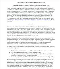 Research Proposal Sample Essay Template Format For Formats ...