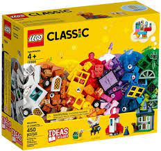 Đồ chơi LEGO Classic 11004 - Bộ Xếp Hình Sáng Tạo 450 mảnh ghép (LEGO 11004  Windows