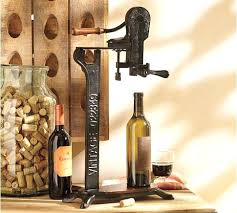 counter top wine opener founders standing wine opener a unique way to open a wine bottle counter top wine opener