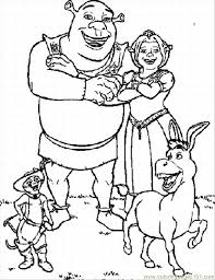 Small Picture Coloring Pages For Shrek Lrg Coloring Page Free Monsters Inc